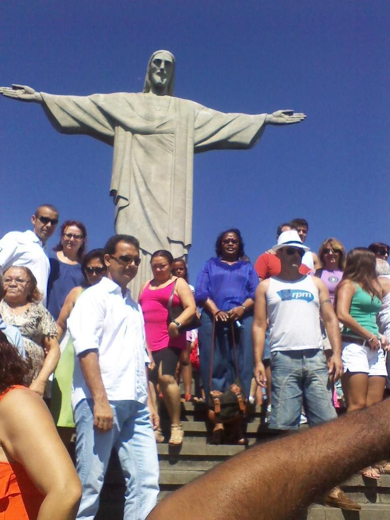At the feet of Jesus - Rio de Janeiro