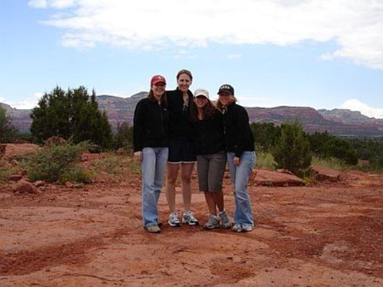 Enjoying the jeep tour in Sedona - Sedona