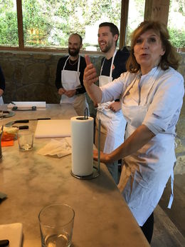 Welcome to our Tuscan Farmhouse Cooking Class. Magnific! , Dawnua V - May 2016