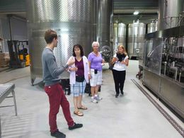 This was part of the tour at Esterhazy, a really impressive, state of the art facility. Good food, great wine. , Chuck D. M - October 2015