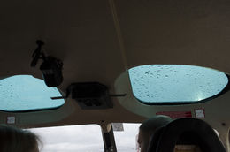 The sun roofs of the A-star, and if you can see towards you on the picture, where the noise mufflers are placed - October 2015