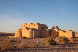Jordan, Qasr Amra desert castle near Amman - November 2011