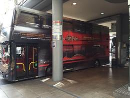Vertrek vanaf Victoria station met de HP dubbeldekker. , M.M. L - August 2016