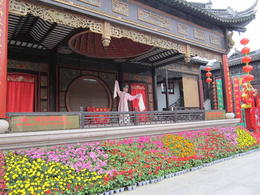 A Chinese opera being performed in Zhouzhuang., Julie - June 2012