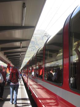 The train's panoramic cars - November 2008