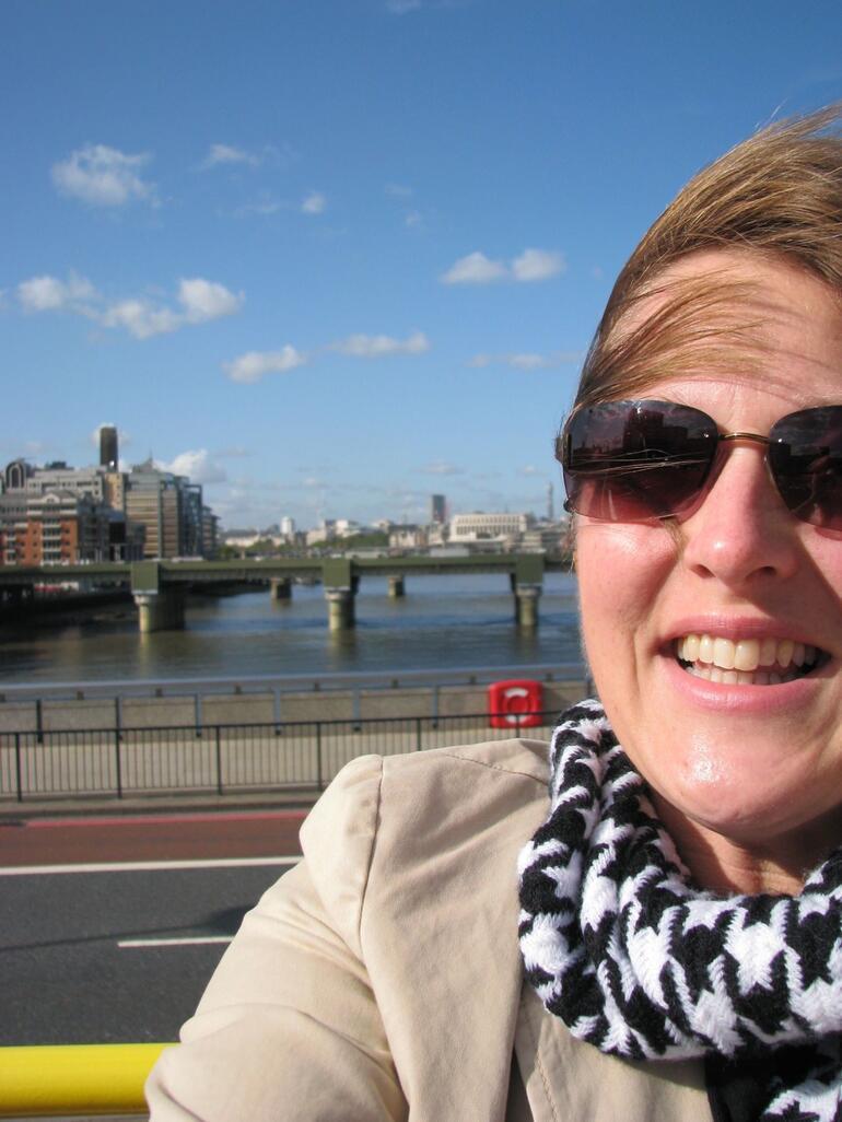 Passing Over a Bridge - London