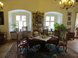 This is one of the best pics of inside the castle - you can tell how new it looks. , Sarah Y - September 2012