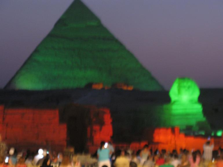 Pyramids Sound & Light - Cairo