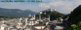 Salzburg Castle and old town... , Robert L - October 2012