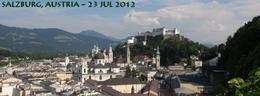 Salzburg Castle and old town... , Robert L - October 2012