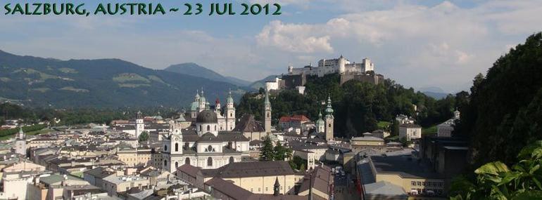 Salzburg, Austria-23JUL12 - Salzburg