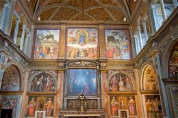 Wonderful vibrant frescoes , Darren A - July 2016