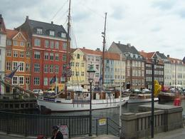 Restaurants , businesses, homes along the canal in Copenhagen. , LARRY K - October 2013