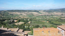 Landscape of Tuscany from Pienza. , James P - September 2014