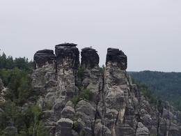 Bastei rock formations in Germany , jacki s - July 2017