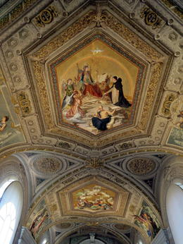 Ceiling in Vatican , Michelle K - November 2017