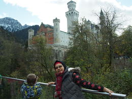 My wife enjoying the beautiful castle... , Ahmad S - November 2014
