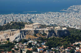 Acropolis Over Athens - May 2011