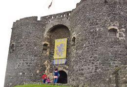Front of Carrickfergus Castle , Joseph L - August 2015