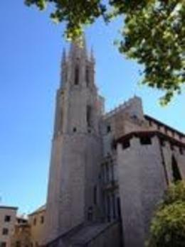 This is the famous cathedral at Girona. (taken by Tayari Jones) , silver_sparrow - August 2013