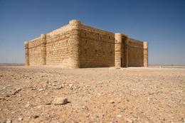 Desert castle in Jordan: Qasr al Kharanah - November 2011