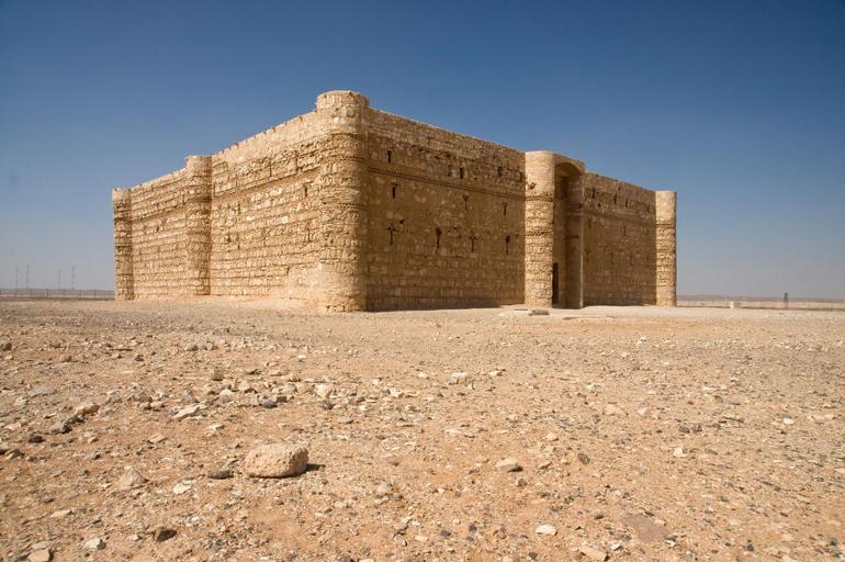 Desert castle, Qasr al Kharanah - Amman