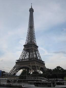 Eiffelturm vom Wasser aus , Merlin - July 2014