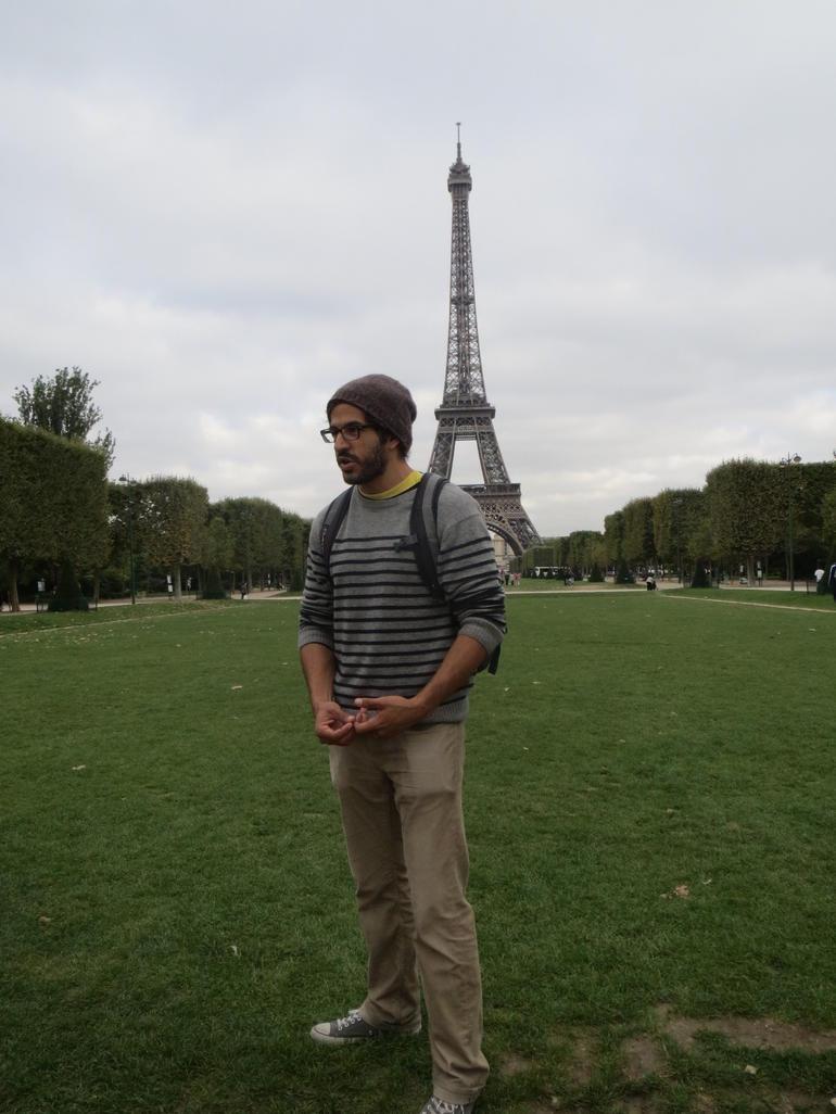 Gil, our Guide - Paris