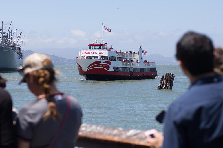 Straight to the Gate Access: Golden Gate Bay Cruise photo 17