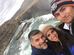 Gullfoss family selfie! , Rebecca C - May 2016