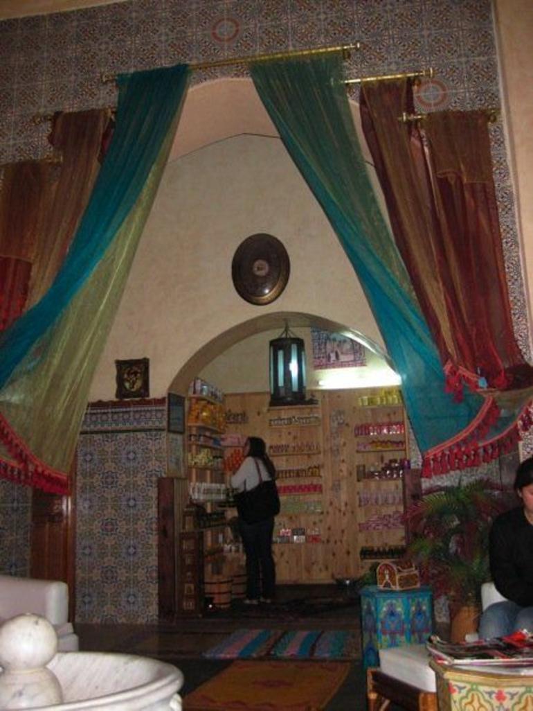 Inside a hammam - Marrakech