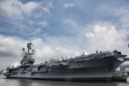 USS Intrepid, Sherry Ott - August 2012