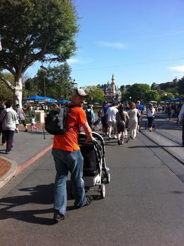 At Disneyland Park - October 2011