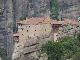 One of the many cliff-top monasteries , Kevin F - June 2015
