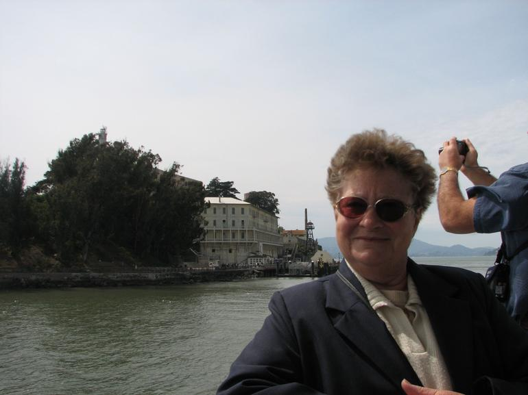 My Mum on the cruise - San Francisco