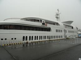 Before boarding the cruise ship for Tokyo day tour. - June 2010