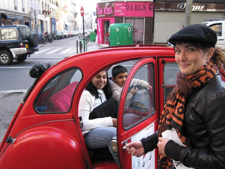 Paris in Citroen - Paris