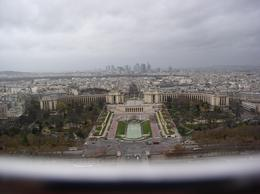 View from 2nd floor of Eiffel Tower, Paul A - December 2009
