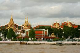 More buildings and scenery (Rice Barge Cruise) - September 2008