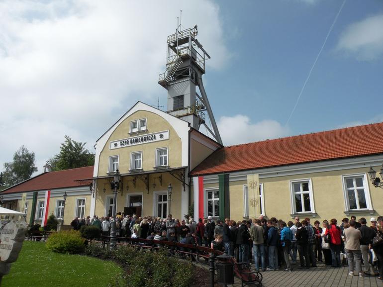 Saltmine from the outside - Krakow - Krakow