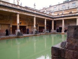 Self-guided tour inside the Roman baths. , Susan S - April 2015