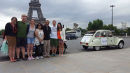 These cute cars are just adorable and a wonderful way to explore some of the sights of Paris. What fun! , sally.cruickshanks - July 2016