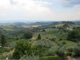 View near the gates of San Gimignano , Nilanjan S - September 2015