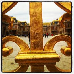 Golden gates of Versailles, Ryan & Asha - April 2013