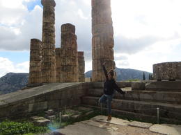 Temple of Apollo in Delphi Nov 2016 , ANNABELLE P - November 2016