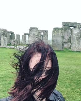 Crazy weather at Stonehenge , Jessica H - June 2017