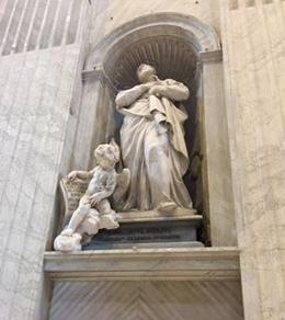 This angel spoke to me in St. Peter's Basilica. , Teddie V - July 2017