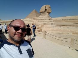 One of the best days of my life visiting the Great Pyramids and Sphinx , CATARINO C - November 2017
