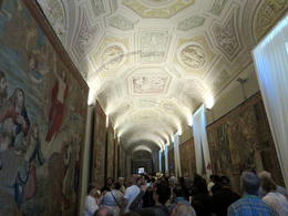 Hall of Tapestries in the Vatican , Michelle K - November 2017