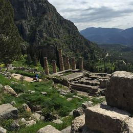 Amazing views, and fantastic ruins , Susan H - April 2015